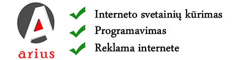 Interneto svetainių kūrimas Marijampolėje